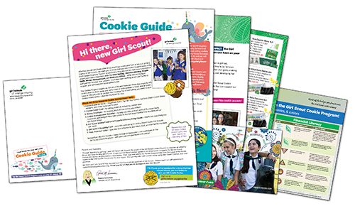 Girl Guide Mailing Materials