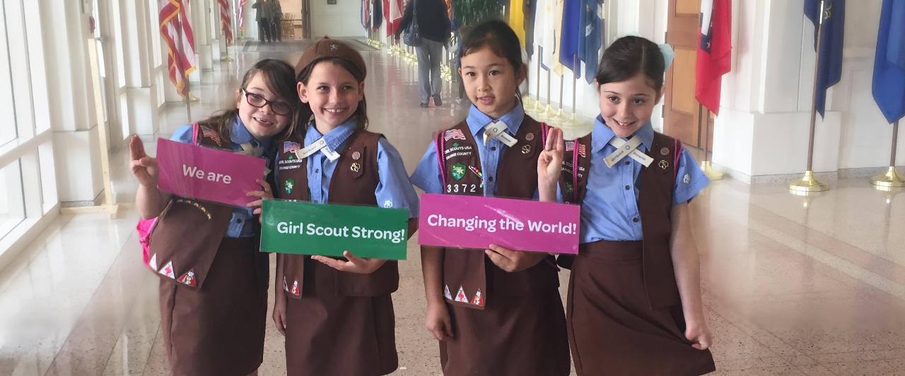 We are Girl Scout Strong